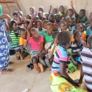 ASCP-Children at church service in Chama