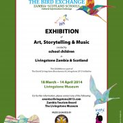 Bird Exchange Exhibition Poster