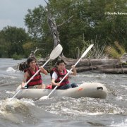 canoeing on upper zambezi